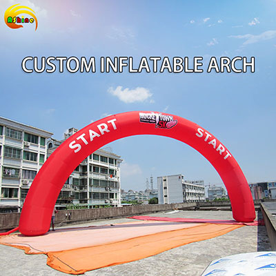 Strong half round colorful inflatable arch for promotion Publicity