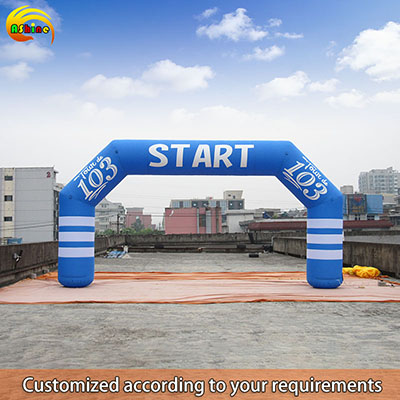 Strong square colorful inflatable arch for promotion Publicity