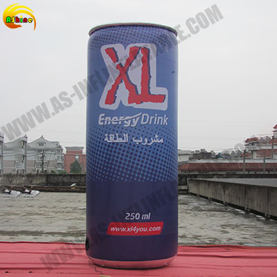 Strong helium cans inflatable model for promotion Publicity