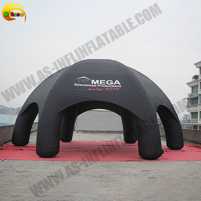 Strong 6 leg inflatable tent for promotion Publicity