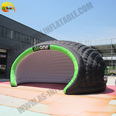 Strong inflatable luna tent for promotion Publicity