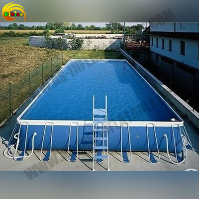 Strong metal frame pool for promotion Publicity